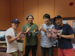 FM長野ラジモ!7/24 絵本「残福モンスターズ」で出演